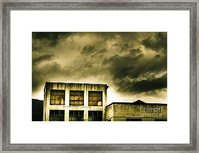 Tension Building Framed Print by Jorgo Photography - Wall Art Gallery