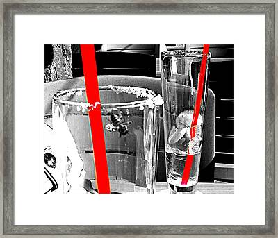 Framed Print featuring the photograph Tequila Bee by Clarice  Lakota