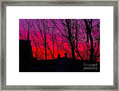 Tequila Sunrise Framed Print by Alice Mainville
