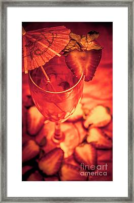 Tequila Sunrise Cocktail Framed Print by Jorgo Photography - Wall Art Gallery