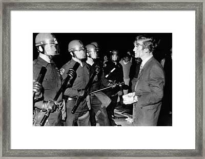 Terence Hallinan, An Activist Attorney Framed Print