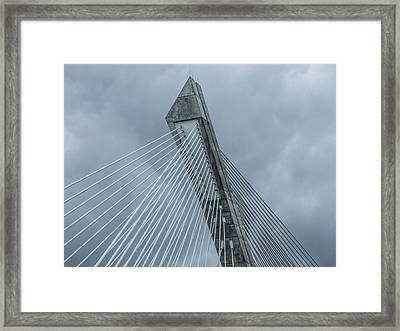 Terenez Bridge II Framed Print