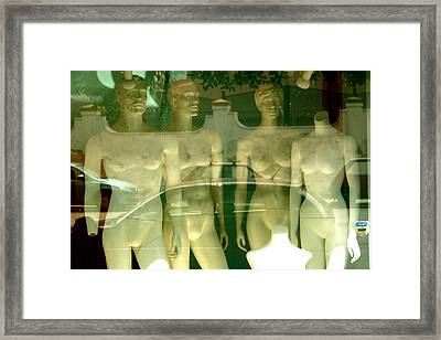 Teresa Green And Family Framed Print by Jez C Self
