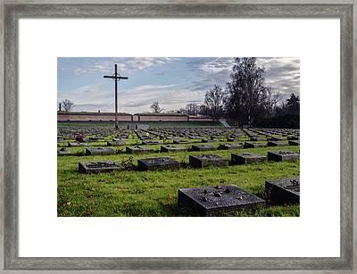 Terezin Memorial Czech Republic Framed Print