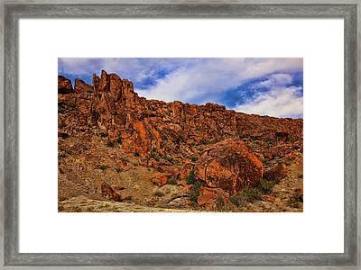 Terlingua Desert 3 Framed Print by Judy Vincent