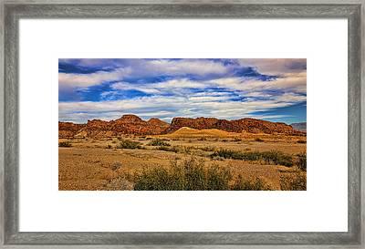 Terlingua Desert 5 Framed Print by Judy Vincent