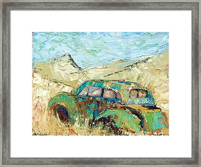 Terlinqua Framed Print
