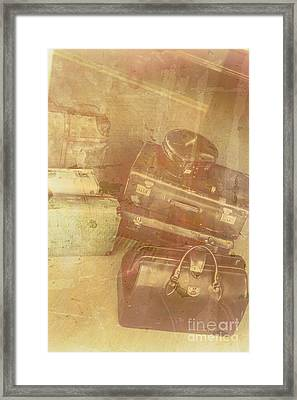 Terminal Goodbye Framed Print