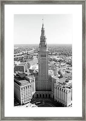 Terminal Tower Ca. 2015 Framed Print