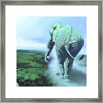 Terra Mater Framed Print by Sarah Soward