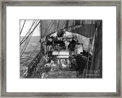 Terra Nova Expedition Framed Print by Granger