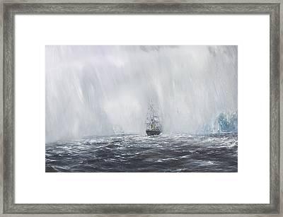 Terra Nova Framed Print by Vincent Alexander Booth