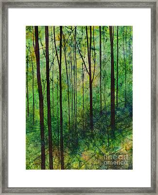 Framed Print featuring the painting Terra Verde by Hailey E Herrera