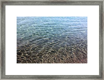 Terrace Bay Framed Print by Pat Purdy