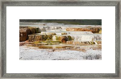 Terrace Colors Framed Print by Chad Davis