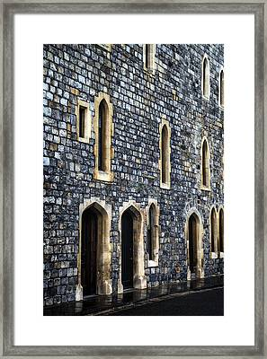 Terraced Houses Framed Print