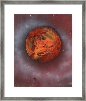 Terraform Framed Print by Jason Girard