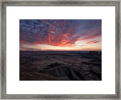 Terrain Framed Print