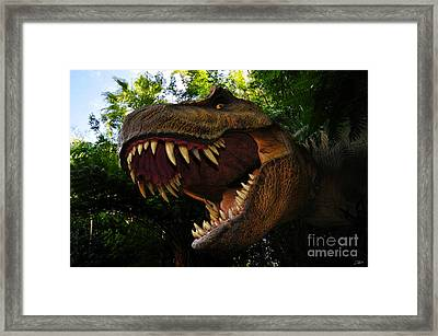 Terrible Lizard Framed Print by David Lee Thompson