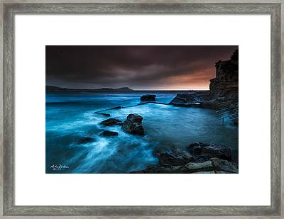 Terrigal Pool Framed Print