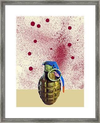 Terror Framed Print