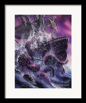Monstrosity Framed Prints