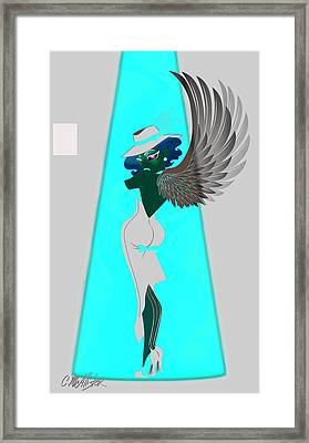 Tess Framed Print by Cristina McAllister