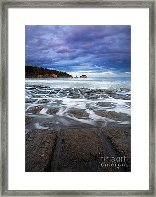Tessellated Flow Framed Print by Mike  Dawson
