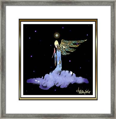 Heavenly Visit Framed Print