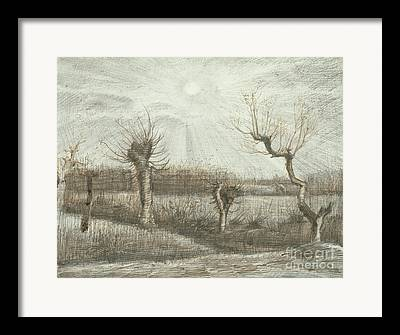 Gloaming Drawings Framed Prints