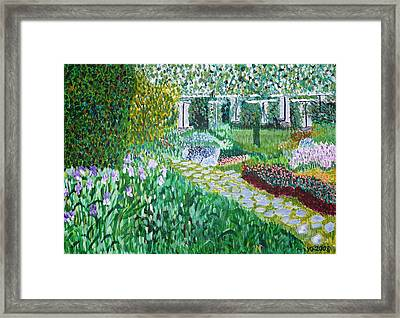 Tete D'or Park Lyon France Framed Print