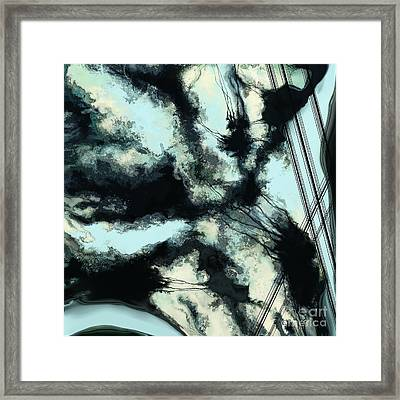 Tethered Sky Framed Print by Keith Mills