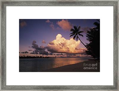 Tetiaroa Framed Print by Larry Dale Gordon - Printscapes