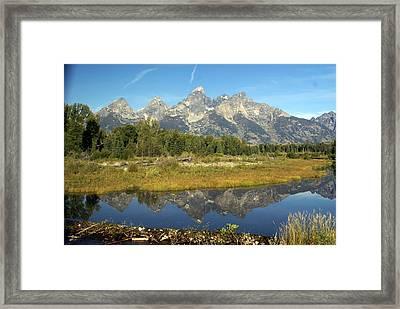 Teton 5 Framed Print by Marty Koch