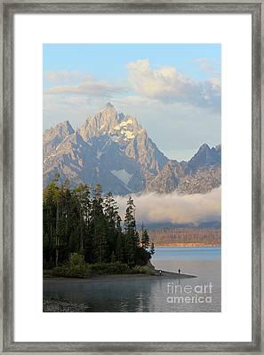 Teton Early Morning Framed Print