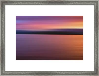 Teton Firesky X Framed Print by Jon Glaser