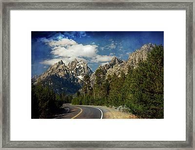 Teton Grande 11 Framed Print by Marty Koch
