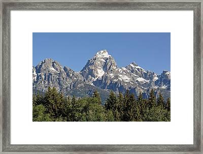 Teton Grande Framed Print