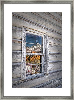 Teton Reflection Framed Print