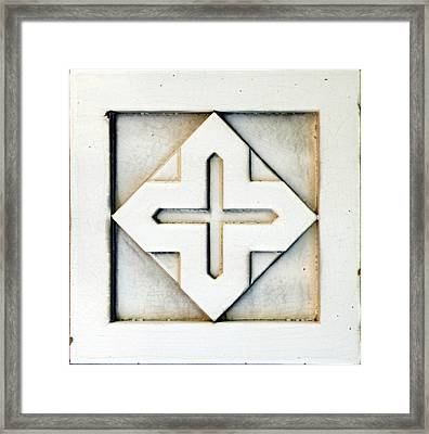Tetra Framed Print by Albert Stewart