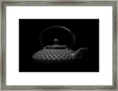 Tetsubin Teapot Framed Print by Tom Mc Nemar