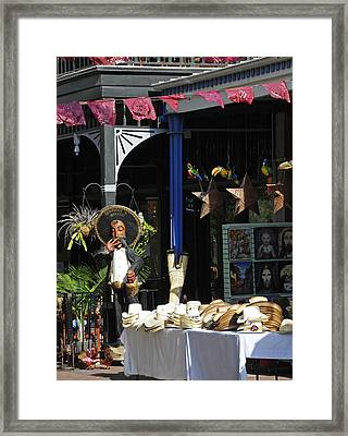 Tex-mex Framed Print by Steven Sparks