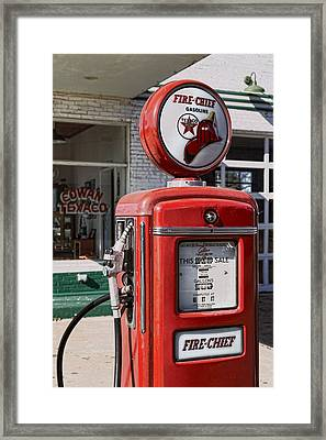Texaco Fire-chief #1 Framed Print