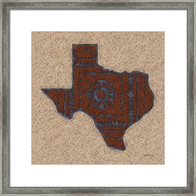 Texas 1 Framed Print