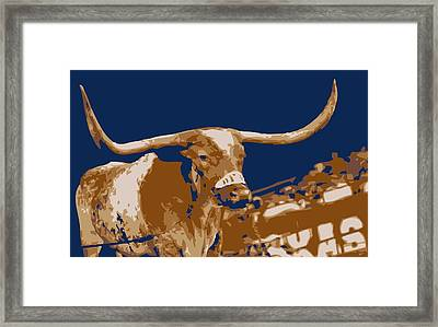 Texas Bevo Color 6 Framed Print by Scott Kelley