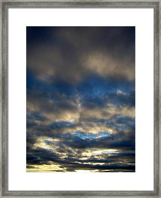 Texas Big Sky Four Framed Print by Ana Villaronga