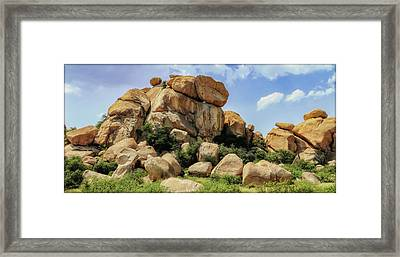 Texas Canyon Framed Print