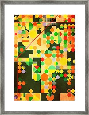 Texas Cotton Fields 2 - By Diana Van Framed Print
