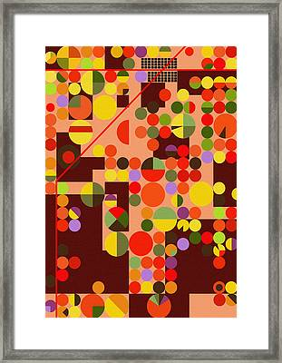 Texas Cotton Fields 4 - By Diana Van Framed Print