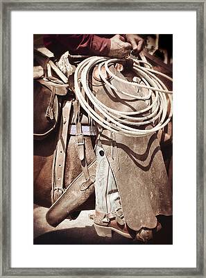 Texas Cowboy 1 Framed Print